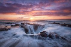 Cotton Candy by MajeedBadizadegan Water Waves Oregon Area Coast Scenic Cape Well Thors Receding Perpetua MajeedBadizadegan Landscape Photos, Landscape Photography, Travel Photography, Water Waves, Photos Of The Week, Ocean Beach, Cotton Candy, The Good Place, Tourism