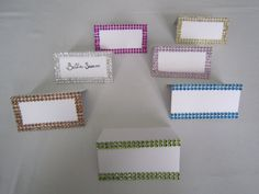 Lime Green Bling Rhinestone Place Card - Wedding Table Name Cards - 100 Pieces - Escort Card on Etsy, $116.95