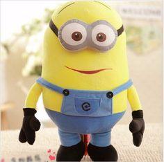 3 Styles Stuffed Minion Toy