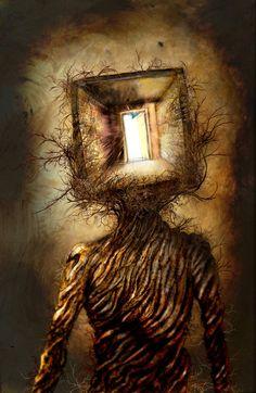 schizophrenic art - Google Search