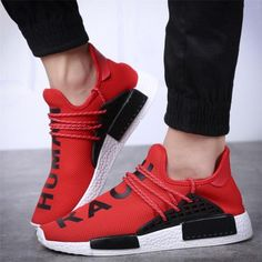 07427150a Adidas NMD Human Race Runner Boost Red Sell Cheaply Cheap Adidas Nmd