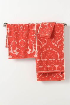 Perpetual Blooms Towels - Anthropologie.com