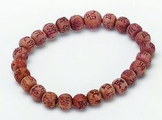 Prayer Beads Korean Zen Cedar Wrist Mala Prayer Bracelet 8mm