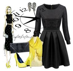 """""""Be Fabulous"""" by shoppe23online ❤ liked on Polyvore featuring LBD and FabulousFashionAccessories"""