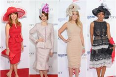The Kentucky Derby may be a horse race -- but to us, the real sport plays out atop attendees' heads. Famous for the hottest hats this side of the Atlantic, the event invites height, width, embellishment... and plenty of drama. #kentuckyderby