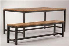 Køb og sælg moderne, klassiske og antikke møbler - Spisebord og bænk (2) - DK, Vejle, Dandyvej
