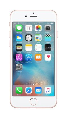Apple iPhone 6s Roségold 16GB SIM-Free Smartphone EUR 384,90