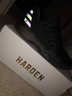 the best attitude 3908f 078bb james harden shoes vol 1 Black.