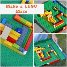 We have made LEGO mazes before, but this one from @sciencesparks takes it to a whole new level! Can't wait to do this with the kids!