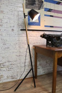 Tilted Tripod Floor Lamp part wooden 0517de5b-d66e-477c-8497-01cd73324cee