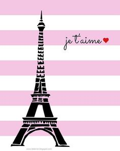 Paris Valentine's Day Free Printable