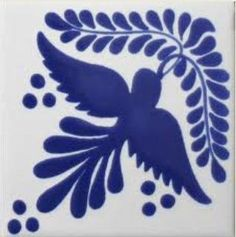 Each Especial Decorative Tile - Paloma Con Ramo is truly an individual work of art that will add lasting beauty and warmth to your home. Bird Stencil, Mexican Ceramics, Tile Crafts, Clay Crafts, Bar Design, Decorative Tile, Color Splash, Watercolor Animals, Folk Art