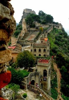 Spain. Castillo de Xativa