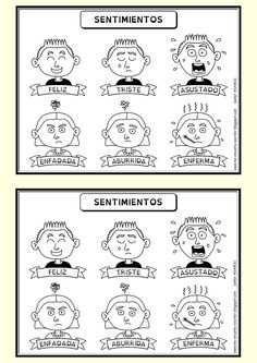 Me encanta escribir en español: Los sentimientos Spanish Grammar, Grammar And Vocabulary, Spanish Teacher, Spanish Classroom, Teaching Spanish, Spanish Language, Spanish Lessons For Kids, Spanish Games, Spanish 1