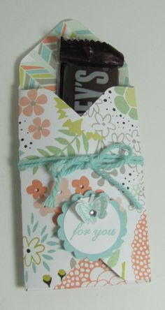 Made with Stampin' Up! Envelope Punch Board
