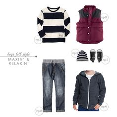 Fall Style : For The Boys - Maxin and Relaxin| Hellobee