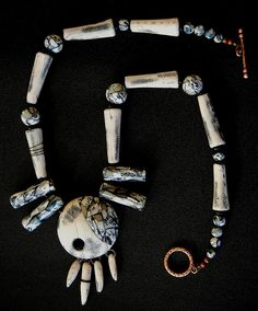 Bones of the Earth by Sonya's Polymer creations, via Flickr