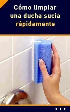 Ducha y azulejos. 1 taza mistol y 1 taza vinagre caliente. 30 min actuar y quitar Deep Cleaning Tips, Cleaning Recipes, House Cleaning Tips, Cleaning Hacks, Homemade Toilet Cleaner, Shower Cleaner, Clean Freak, Toilet Cleaning, Home Hacks