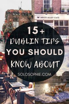 Dublin tips: looking to visit Dublin for the first time? This is your ultimate guide to things you must know before visiting the Irish capital city of Dublin Ireland