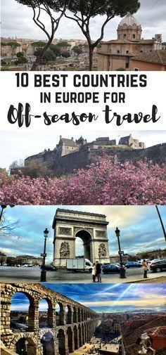 10 best destinations in Europe for off-season travel. Best countries for traveling during low season. Low season travel. Europe travels. France, Italy, Slovenia, Russia, Montenegro, Croatia, SLovenia