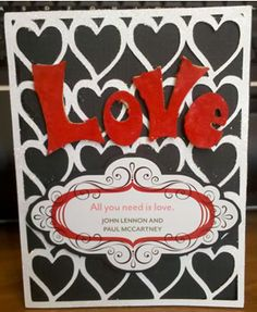 Love and Heart Background SVG set