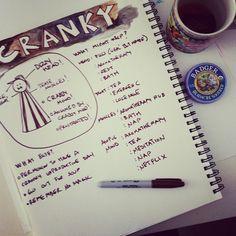 Creative Journal Day 20: Cranky Journaling