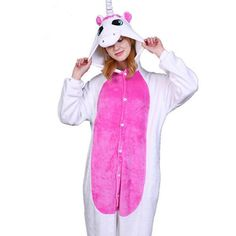 Pyjamas Women Flannel Unicorn Sleepwear 0404ca2e6