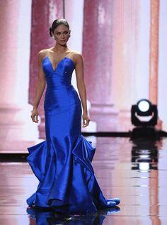 Pia Alonzo Wurtzbach - Philippines - Miss Universe 2015 Pia Wurtzbach Gown, Pia Wurtzbach Style, Miss Universe 2015, Miss Universe Dresses, Miss Universe Philippines, Filipina Beauty, Beauty Contest, Brave Women, Haute Couture Dresses