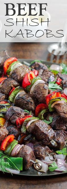 The best beef shish kabob recipe (how-to!) | The Mediterranean Dish. This recipe and tutorial will show you exactly how to make the perfect beef kabobs (kebabs). From the spices and marinade, and how to grill the best kabobs! Click the image for the recipe and visit TheMediterraneanDish.com for more!