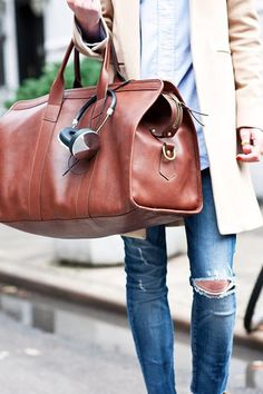 6 Chic Bags Every New Yorker Should Own via @PureWow