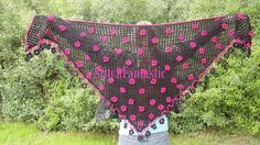 Flower Shawl by StitchFantastic | Crocheting Pattern - Looking for your next project? You're going to love Flower Shawl by designer StitchFantastic. - via @Craftsy