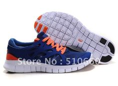 2012 Brand New Hot Sale Woman Free Run Running shoes,Sports shoes,sneakers Deep Blue/Orange Euro 36-39 on AliExpress.com. $38.80