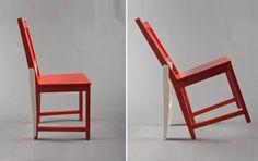 http://www.cosasdearquitectos.com/2012/11/hackeando-una-silla-de-ikea-para-crear-la-silla-de-homer-simpson/  Homer Simpson es un gran personaje, de eso no cabe dudas, y aunque en algunas ocasiones sus ideas pueden ser un poco descabelladas parece ser que no son malas ideas, o eso ha debido pensar el diseñador Deger Cengiz.