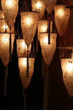 Fortuny lamps in Venice