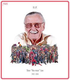 Buen viaje Stan Lee 🌼💐👼