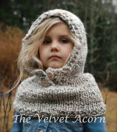 Knitting PATTERN-The Channel Cowl 12/18m by Thevelvetacorn on Etsy