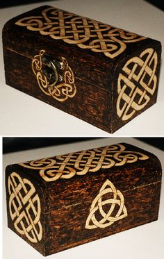 Celtic box by llinosevans.deviantart.com on @deviantART