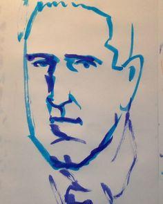 いいね!7件、コメント1件 ― @1mindrawのInstagramアカウント: 「#1mindraw  #trentreznor  #トレントレズナー  #19650517 #birthday  #誕生日  #portrait  #筆ペン画」