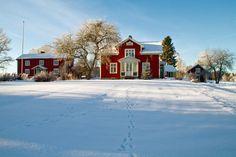 Winter in Smålande, Sweden