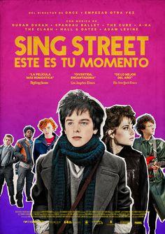 Sing Street Este es tu momento, póster para México | Cine PREMIERE