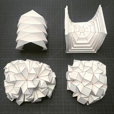 """1,114 Likes, 36 Comments - (hyperqbert) (@miketanis_) on Instagram: """"#making #samples for #teaching #origami #span #hyperbolic #paraboloid #octagon #ronresch…"""""""