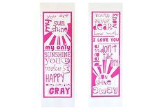 Sunshine Set Pink on OneKingsLane.com