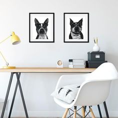 One of the questions I get frequently is whether I can do two pets on the same print. I can do it but I usually prefer not to for a few different reasons. The first (and biggest) reason is because stylistically they just look better as their own portrait. Lumping them together on one print seems to take the spotlight off of each of them individually and they end up fighting the eye for attention. Secondly the reference photos are rarely (if ever) of the two pets in one picture so stuffing…