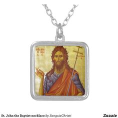 St. John the Baptist necklace