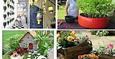 20 manualidades para el balcón, terraza o jardín