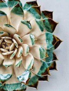 Живая глина в руках мастера: керамические бутоны и суккуленты от Owen Mann - Ярмарка Мастеров - ручная работа, handmade