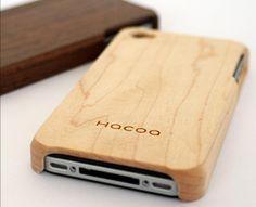 i want an iphone case in a dark wood grain.