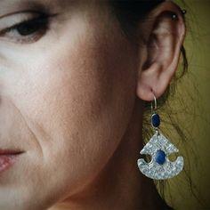 Kazakh earrings