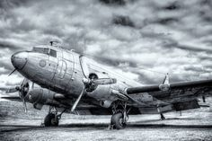 A Swedish TP59 Douglas DC-3 Dakota. This aircraft is from the Swedish Air Force Museum in Linköping.