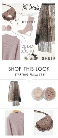 """""""Just breathe"""" by lacas ❤ liked on Polyvore featuring Antonio Marras, MELLOW YELLOW, Stila, Kershaw, WorkWear, Sweater, booties and shein"""